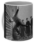 Testing Football Helmets In 1912 Ouchhhhh Coffee Mug