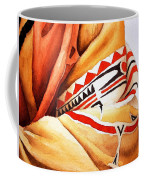 Teton Dacota Indian Woman Detail Coffee Mug