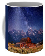 Teton Nights Coffee Mug by Darren  White