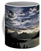 Teton Range Sunset Coffee Mug