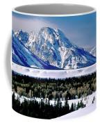 Teton Valley Winter Grand Teton National Park Coffee Mug