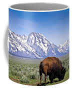 Tetons Buffalo Range Coffee Mug