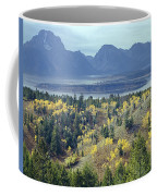1m9209-tetons From Signal Mountain, Wy Coffee Mug