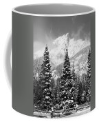Tetons In Snow Coffee Mug