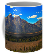 Tetons Mountians Coffee Mug