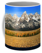 Tetons Panorama Coffee Mug