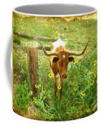 Texan Longhorn Coffee Mug