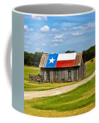 Texas Barn Flag Coffee Mug