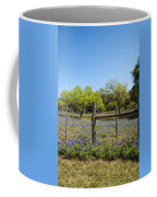 Texas Bluebonnet Lupine Pature Coffee Mug