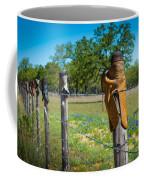 Texas Boot Fence Coffee Mug