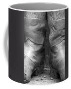 Texas Boots Portrait - Bw 01 Coffee Mug