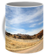 Texas Canyon In February Coffee Mug