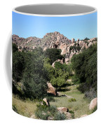 Texas Canyon Landscape Coffee Mug