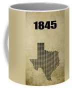 Texas Statehood 2 Coffee Mug