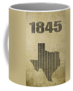 Texas Statehood Coffee Mug