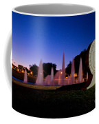 Texas Tech University Seal And Blue Sky Coffee Mug