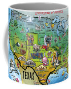 Texas Usa Coffee Mug