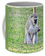 Texting Monkey Coffee Mug