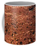 Texture In Red Coffee Mug