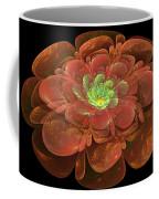 Textured Bloom Coffee Mug by Sandy Keeton