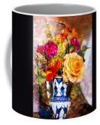 Textured Bouquet Coffee Mug
