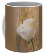 Textured Rose Coffee Mug