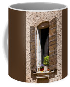 Textured Shutters Coffee Mug