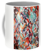 Textured Structural Abstract Coffee Mug