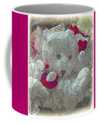 Textured Teddy Coffee Mug