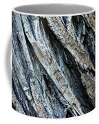 Textured Tree Bark Coffee Mug