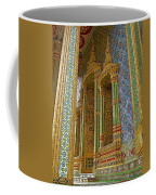 Thai-khmer Pagoda At Grand Palace Of Thailand In Bangkok Coffee Mug