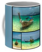 Thailand Longboats Coffee Mug