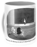Thank You, Mr. Mulvaney, But What We're Really Coffee Mug