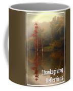 Thanksgiving Reflections Coffee Mug