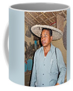 Tharu Chitwan National Park Naturalist In Tharu Village In Nepal  Coffee Mug