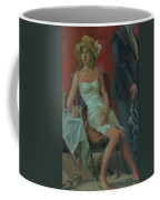 That Was A Lovely Lunch, 2008 Oil On Canvas Coffee Mug