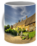Thatched Cottages At Great Tew  Coffee Mug