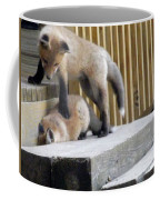 That's Not Helping - Two Fox Kits Coffee Mug