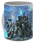 The 107th Infantry Memorial Sculpture Coffee Mug