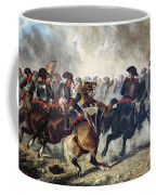 The 8th Napoleonic Cavalry Regiment Charging Into Battle  Coffee Mug