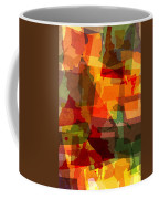 The Abstract States Of America Coffee Mug by Design Turnpike
