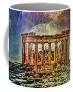 The Acropolis Of Athens Coffee Mug