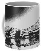 The Admiral And President's Casino In Ink Stamp Coffee Mug