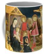 The Adoration Of The Kings And Christ On The Cross Coffee Mug
