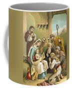 The Adoration Of The Shepherds Coffee Mug by English School
