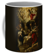 The Adoration Of The Shepherds Coffee Mug by Jan Cossiers