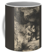 The Agony In The Garden Coffee Mug by Rembrandt