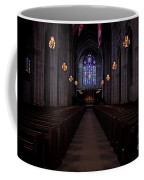The Aisle Of Princeton Chapel Coffee Mug