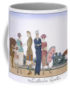 The Allies In Versailles Coffee Mug