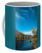 The Alpine Larch Tree On Bald Mountain Pond Coffee Mug